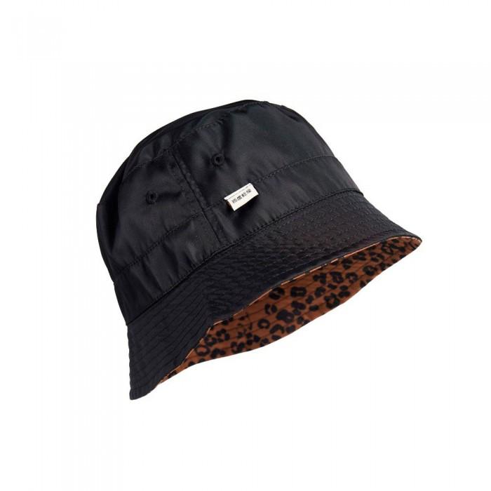 [해외]슈퍼드라이 나일론 리버서블 버킷 Black Leopard