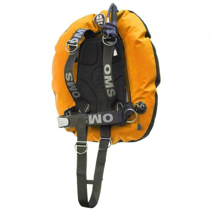 [해외]OMS Aluminum SmartStream With Performance Double Wing 45 Lbs 10137602193 Lava Orange / Black