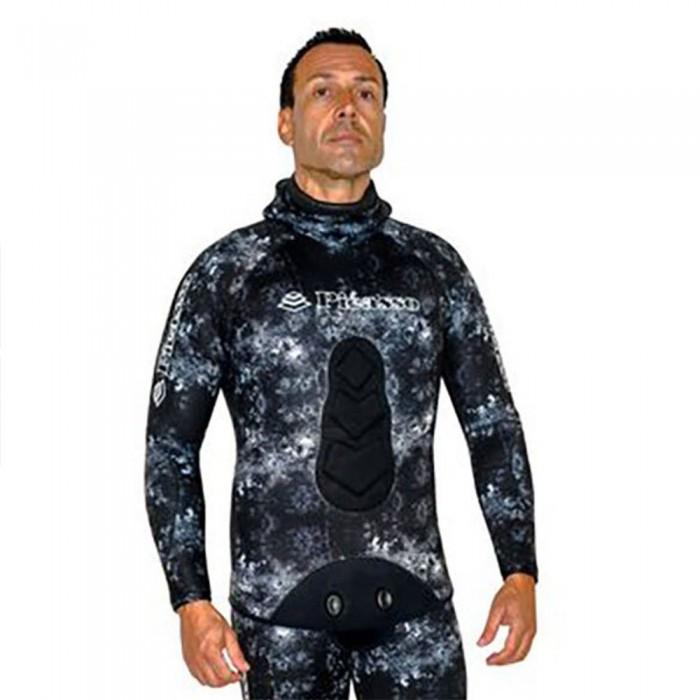 [해외]PICASSO Camo Ghost Jacket 8 mm 10137478722 Black / Grey
