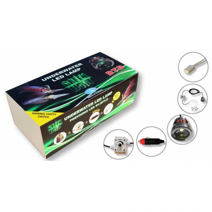 [해외]DTD Underwater LED Lamp Profi 137592622 Green