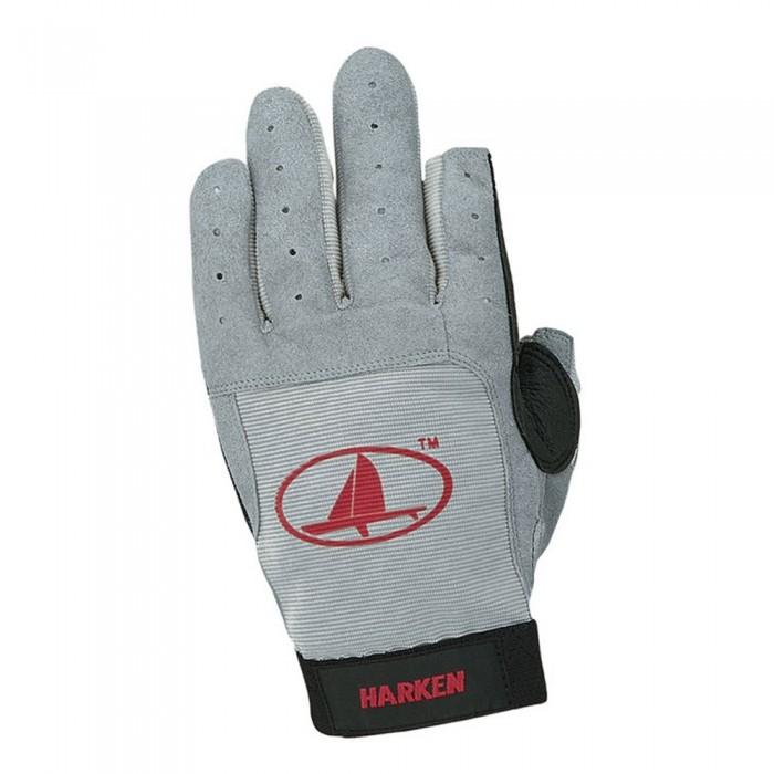 [해외]HARKEN Classic - Full Finger Glove Grey / Black 57951 Grey / Black