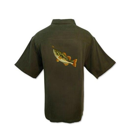 [해외]HOOK AND TACKLE Largemouth Bass 1227641 Olive