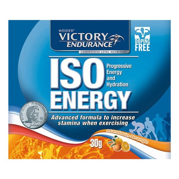 [해외]VICTORY ENDURANCE ISO Energy 30gr x 16 Units 7137520511 Orange / Mandarine