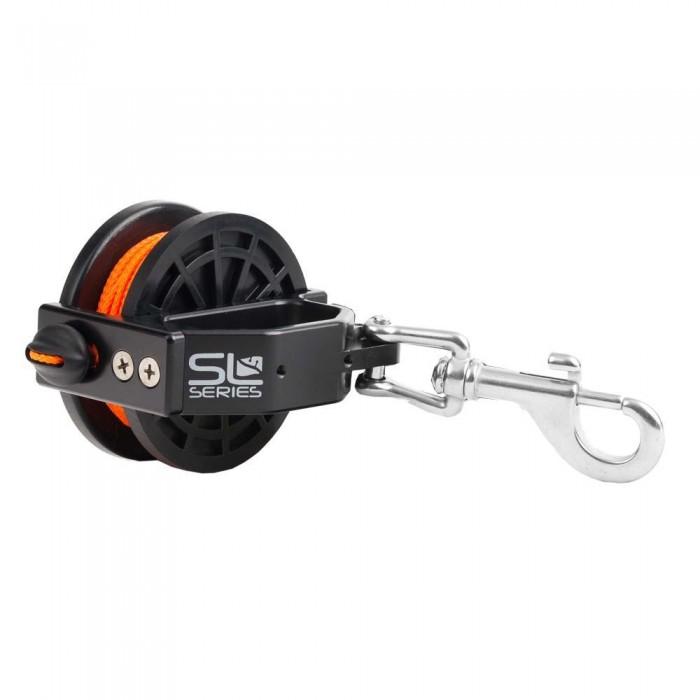 [해외]DIVE RITE Slide Lock Jum Reel 10136800814 Orange Thread