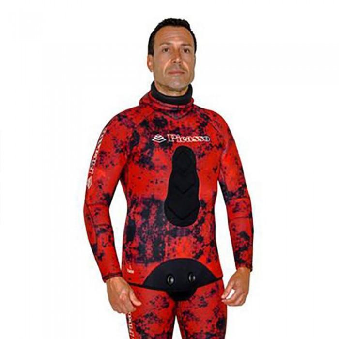 [해외]PICASSO Camo Blood Jacket 3 mm 10137478723 Red / Black