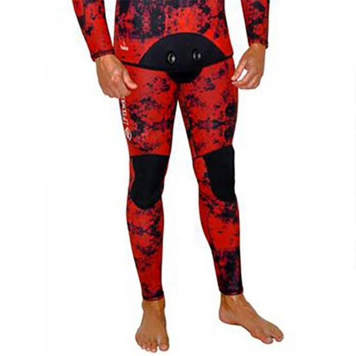 [해외]PICASSO Camo Blood Pants With Suspenders 5 mm 10137478735 Red / Black
