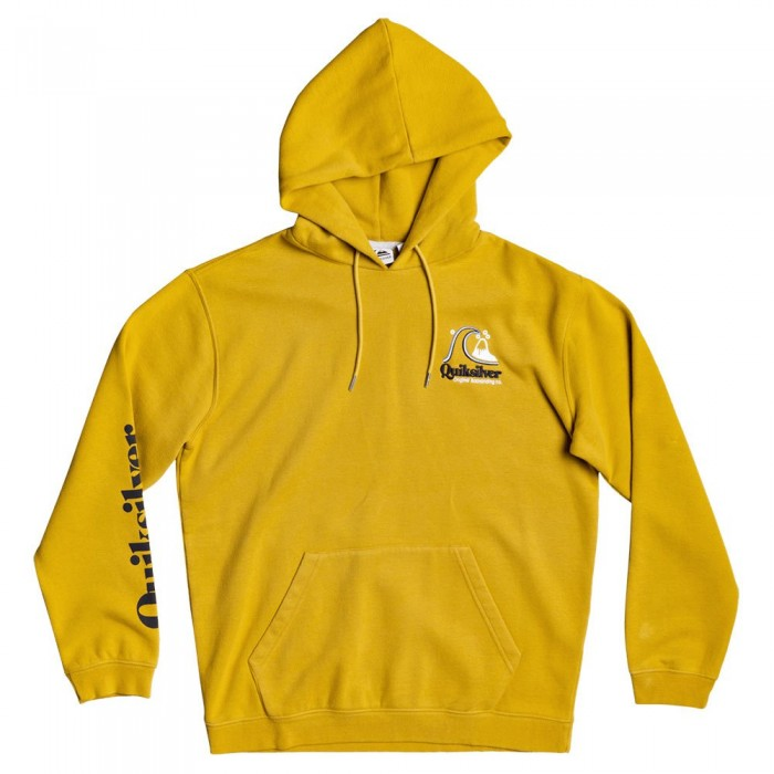 [해외]퀵실버 Sweet As Slab Hood Fleece 14137590858 Honey
