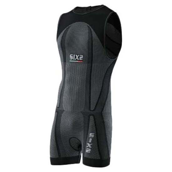 [해외]SIXS Triathlon BodySuit 6136337610 Black Carbon