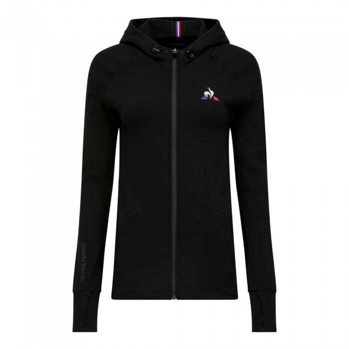 [해외]르꼬끄 Training Performance Full Zip Hoody Nº1 12137624442 Black