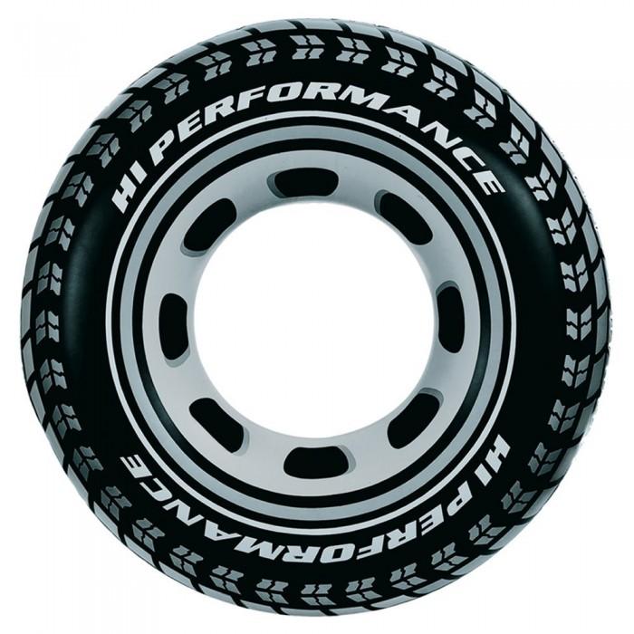 [해외]인텍스 Inflatable Tyre Ring 6137566148 Black