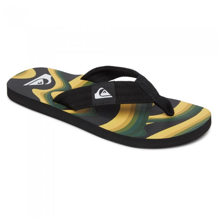 [해외]퀵실버 Molokai Layback Man14137590146 Black / Yellow / Green