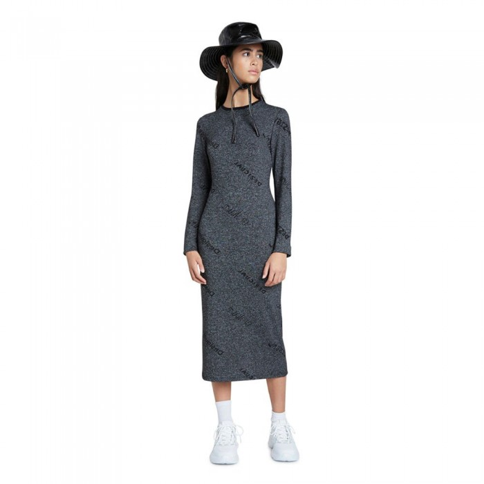 [해외]데시구알 Angie Dress Gris Vigore Oscuro