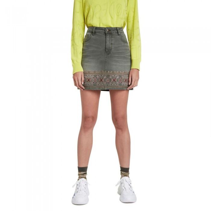 [해외]데시구알 Osaka Skirt Military Green