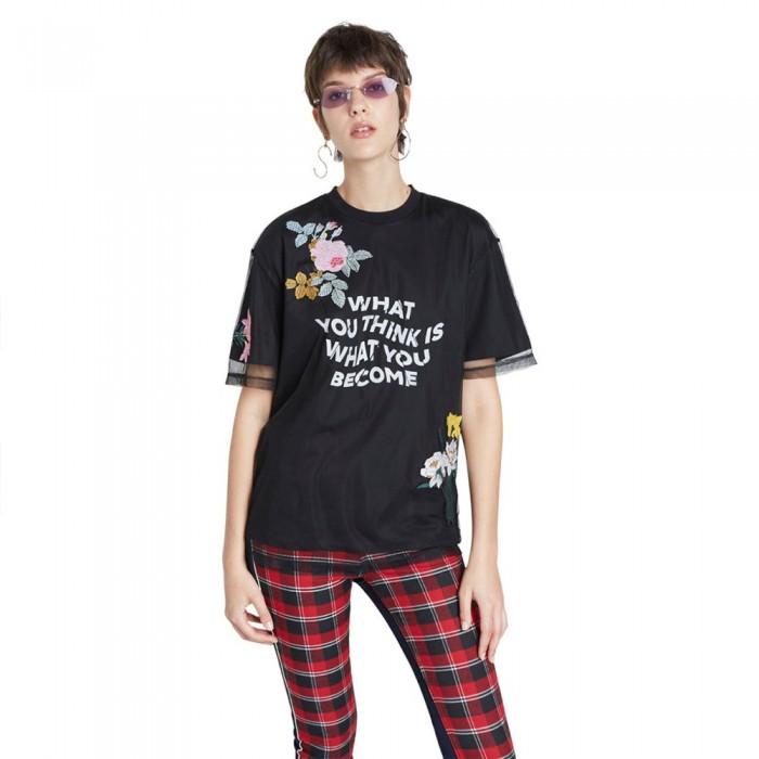 [해외]데시구알 Become Short Sleeve T-Shirt Black