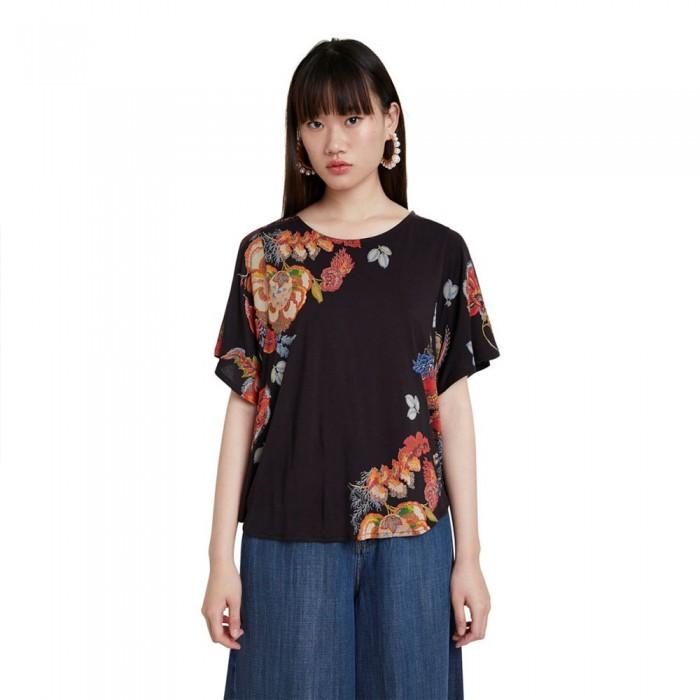 [해외]데시구알 Gabi Short Sleeve T-Shirt Black