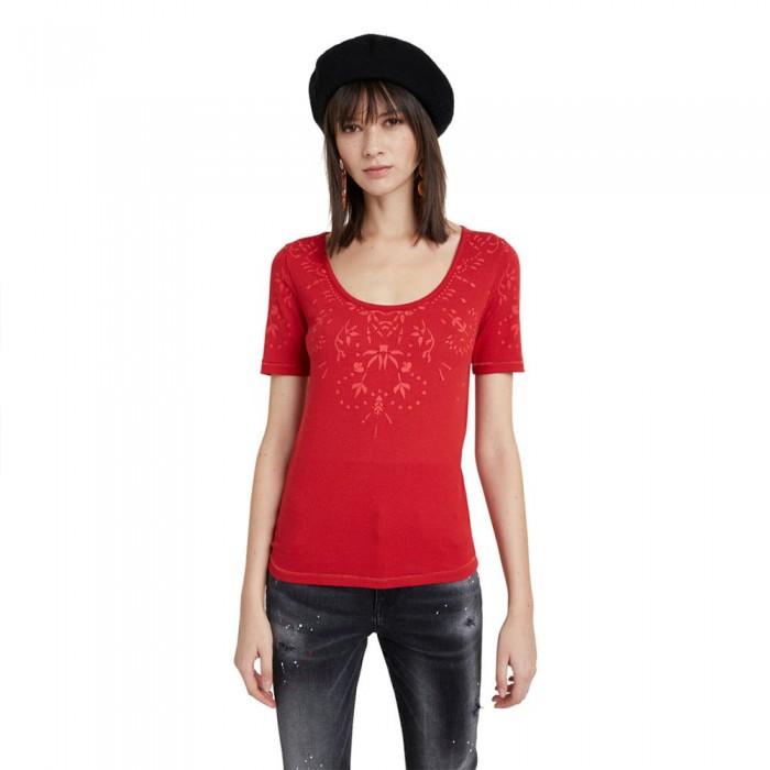 [해외]데시구알 Lyon 3/4 Sleeve T-Shirt Carmine