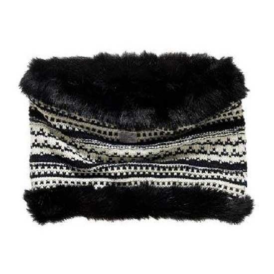 [해외]슈퍼드라이 노르딕 Fur Snood Black / Cream