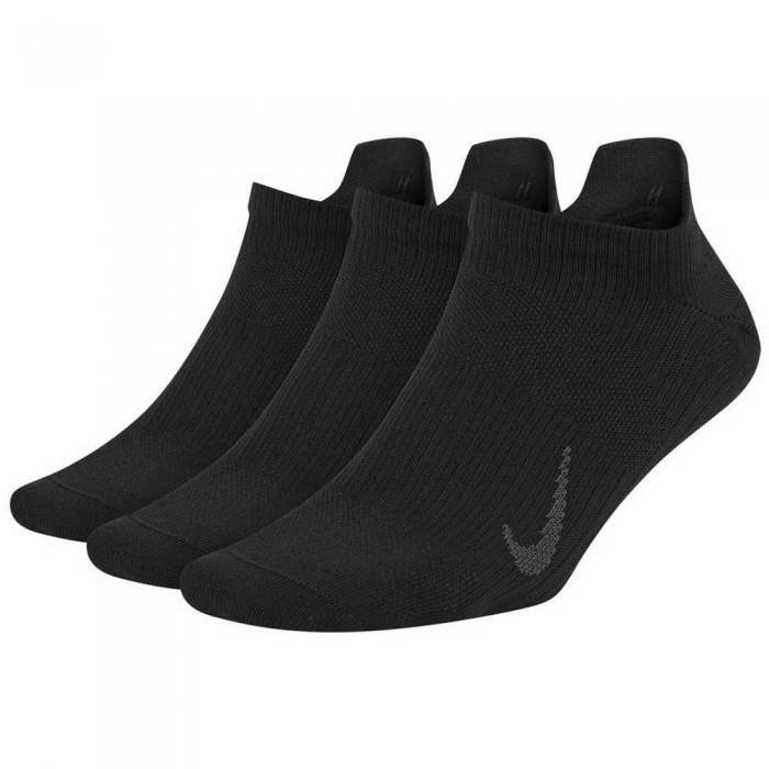 [해외]나이키 Everyday Plus 3 Pairs Socks 7137483761 Black