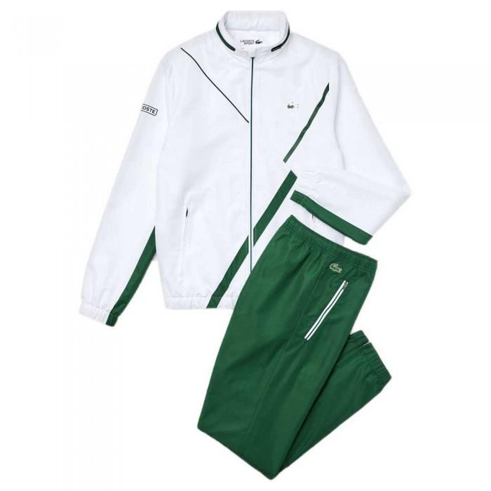 [해외]라코스테 Sport Dissimilar 7137648612 White / Green