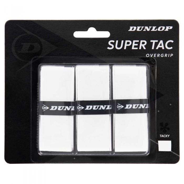 [해외]던롭 Super Tac 3 Units 12137396261 White