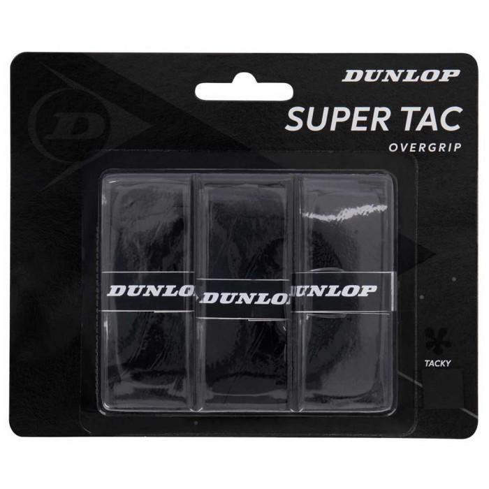 [해외]던롭 Super Tac 3 Units 12137396262 Black
