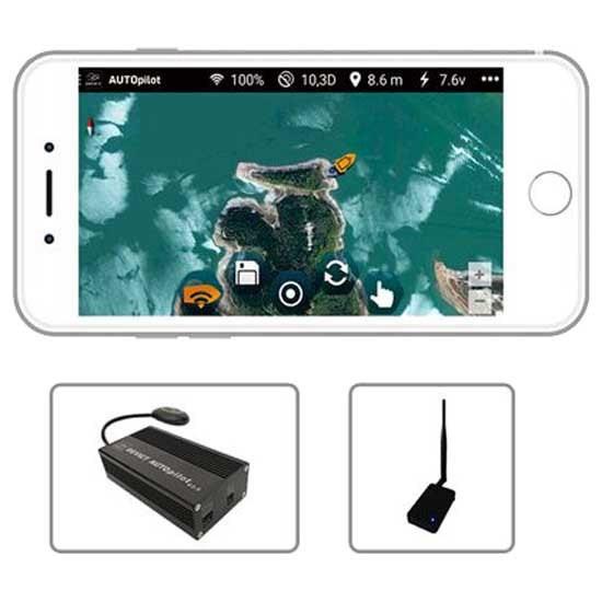 [해외]ANATEC GPS Driver Lake Skipper 137629810 Black