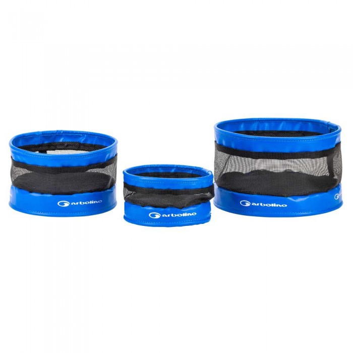 [해외]GARBOLINO 3 Anti-Escape Soft Bait Tubs Set 137618807 Blue