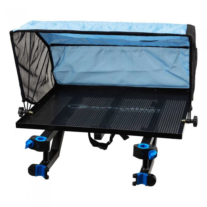 [해외]GARBOLINO Deluxe Multigrip Legless Tented Side Tray 137618798 Black / Blue