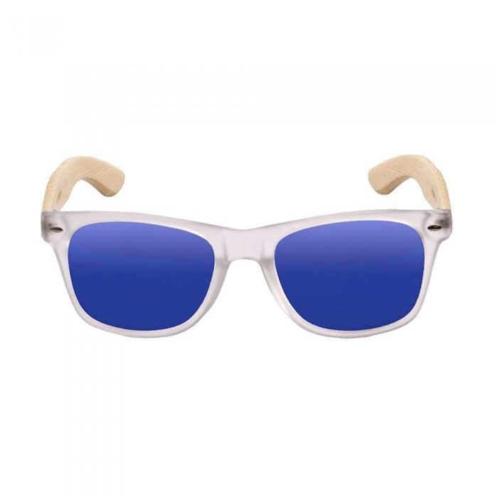 [해외]OCEAN SUNGLASSES Beach Wood 136178923 White Transparent / Blue