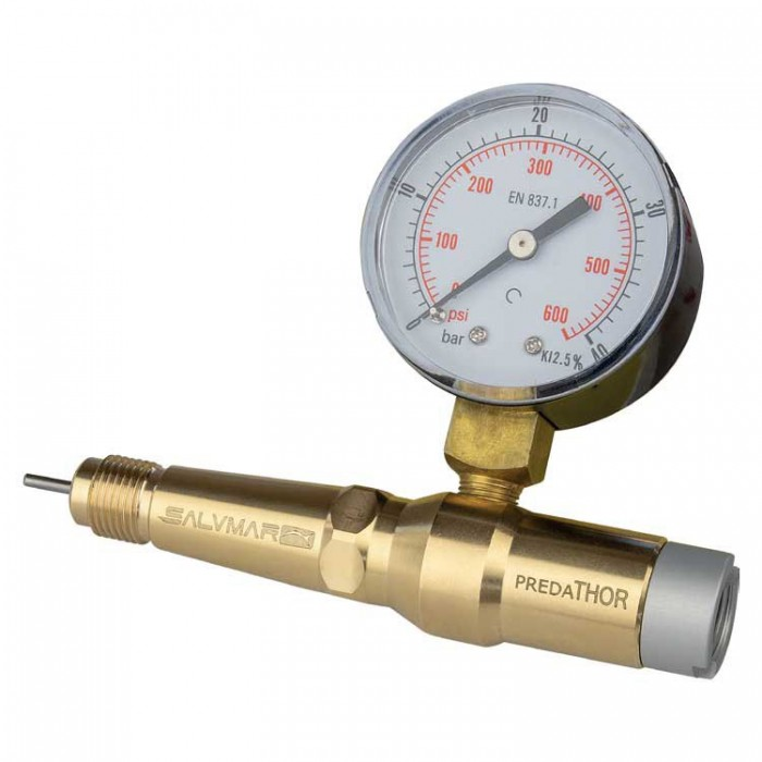 [해외]살비마 Predathor Pressure Gauge With Charging Adapter 10137633238