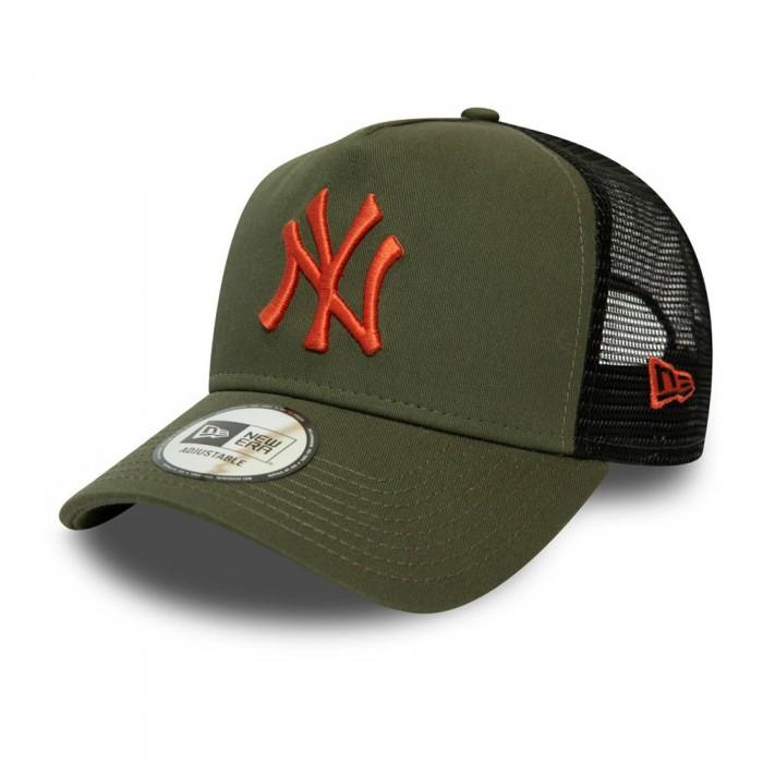 [해외]뉴에라 League Essential Trucker New york Yankees Green Med