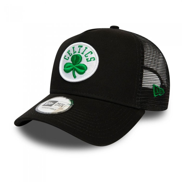 [해외]뉴에라 Dark Base Team Trucker Boston Celtics Black