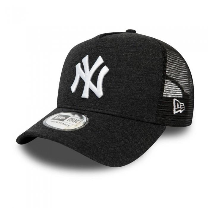 [해외]뉴에라 Jersey Essential Trucker New York Yankees Black / White