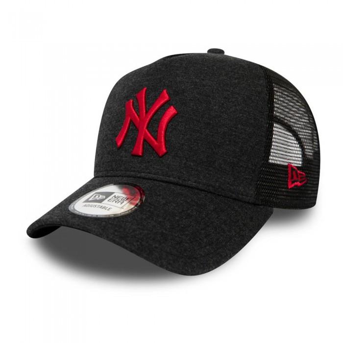[해외]뉴에라 Jersey Essential Trucker New York Yankees Black