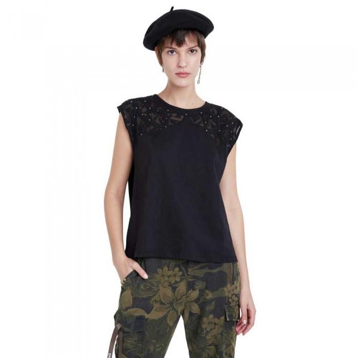 [해외]데시구알 Lisboa Sleeveless T-Shirt Black