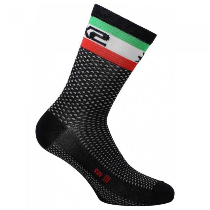 [해외]SIXS Short Logo 14137653816 Black / Italy Flag