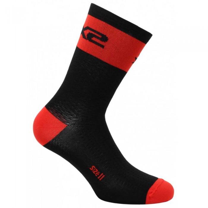 [해외]SIXS Short Logo 14137653818 Black / Red