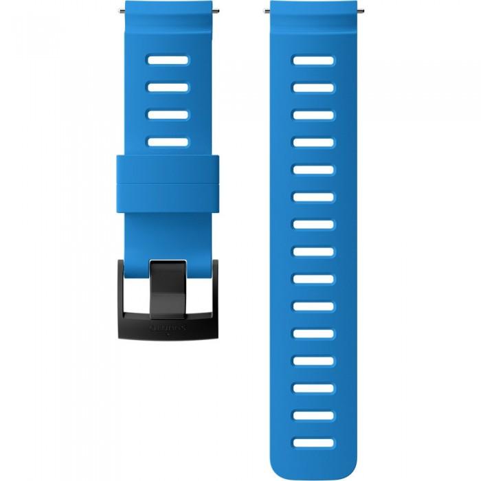 [해외]순토 24mm Dive 1 Silicone Strap 6137066440 Blue / Black