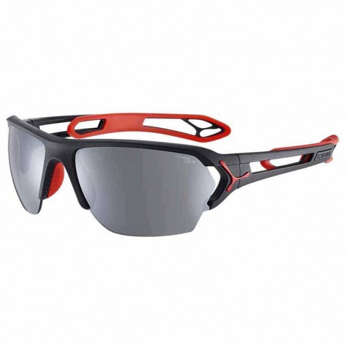 [해외]CEBE STrack L Polarized 6136935610 Matt Black / Red