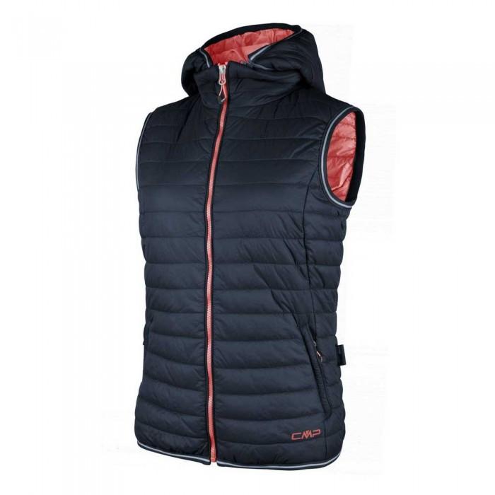 [해외]CMP Vest Zip Hood 6136388620 B.Blue / Peach