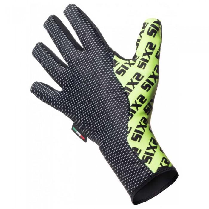 [해외]SIXS Winter 7137653744 Black Carbon / Yellow Fluo