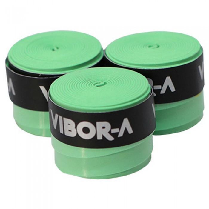 [해외]VIBORA Overgrip Microperforated 3 Units 12137641226 Green Fluo