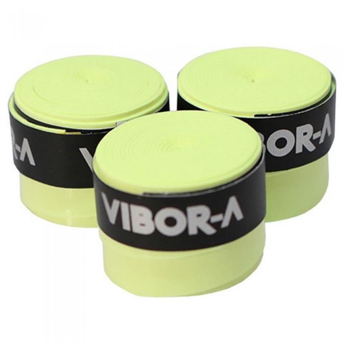 [해외]VIBORA Overgrip 3 Units 12137641237 Yellow Fluo