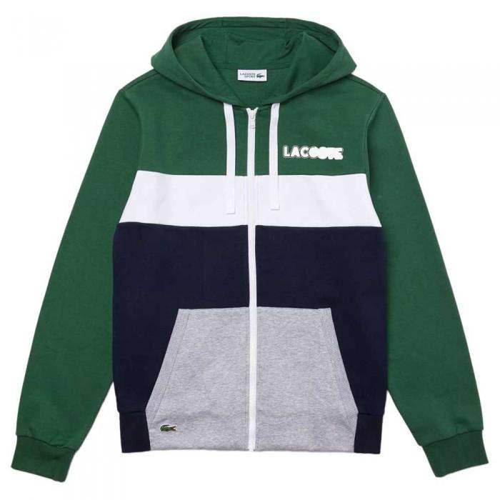 [해외]라코스테 스포츠 Colurblock Green / Navy Blue / Grey Chine / White