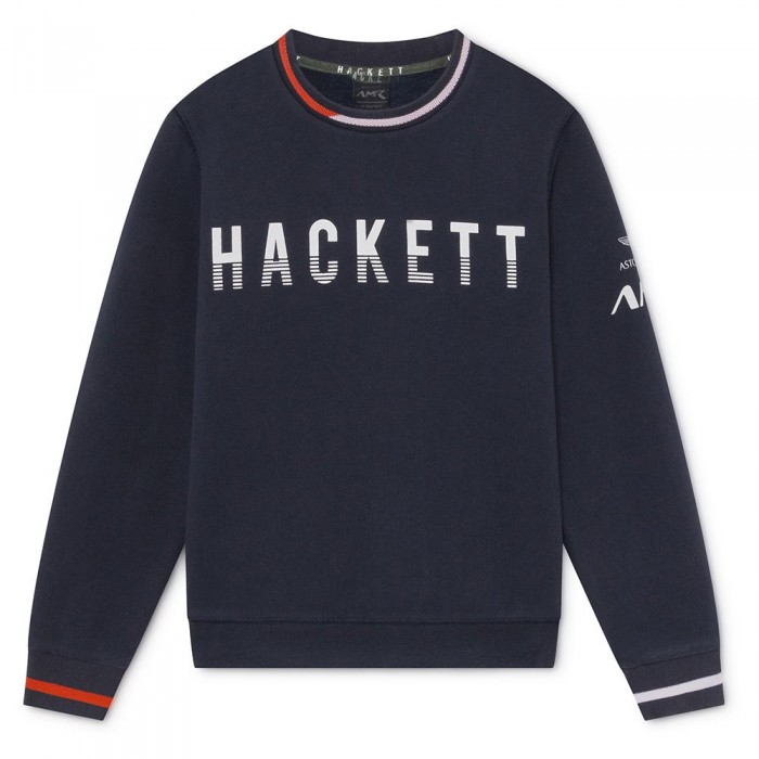 [해외]HACKETT Amr Cont 크루 Youth Navy