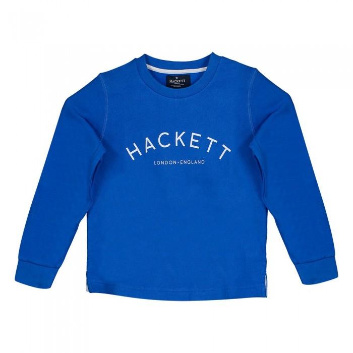 [해외]HACKETT 로고 크루 Kid Bright Blue
