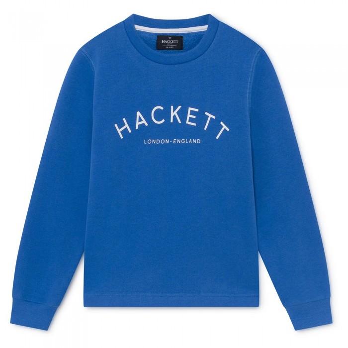 [해외]HACKETT 로고 크루 Youth Bright Blue