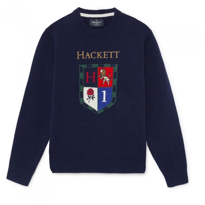[해외]HACKETT Shield 크루 Youth Navy