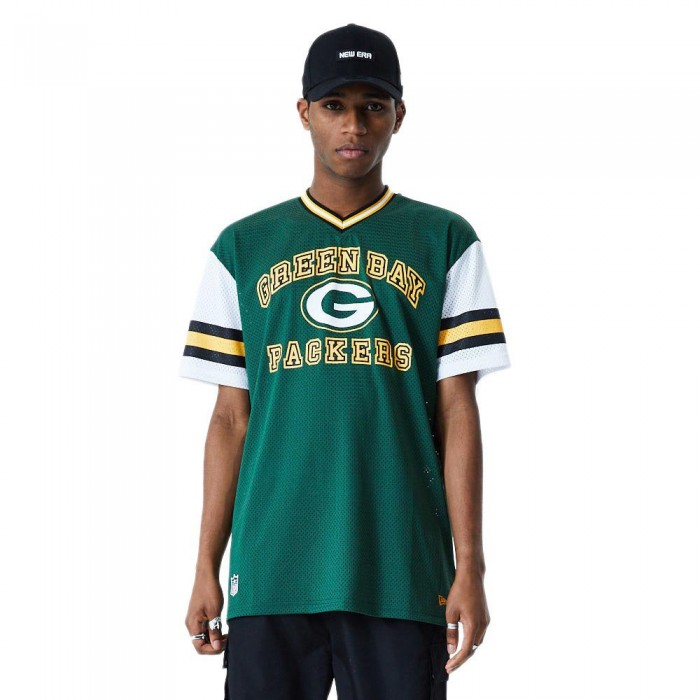 [해외]뉴에라 NFL Stripe Oversized Green Bay Packers Dark Green