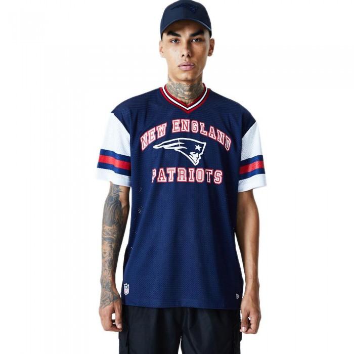 [해외]뉴에라 NFL Stripe Oversized New England Patriots Dark Blue